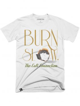Cali Connection Burn Slow Shirt – White