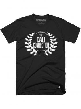 Cali Connection Crest shirt – Black