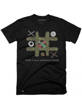 Cali Connection Tic Tac Toe Shirt